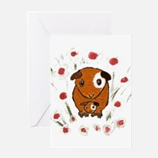 GUINEA PIG ~PeekABoo~ LilyKo. Greeting Card