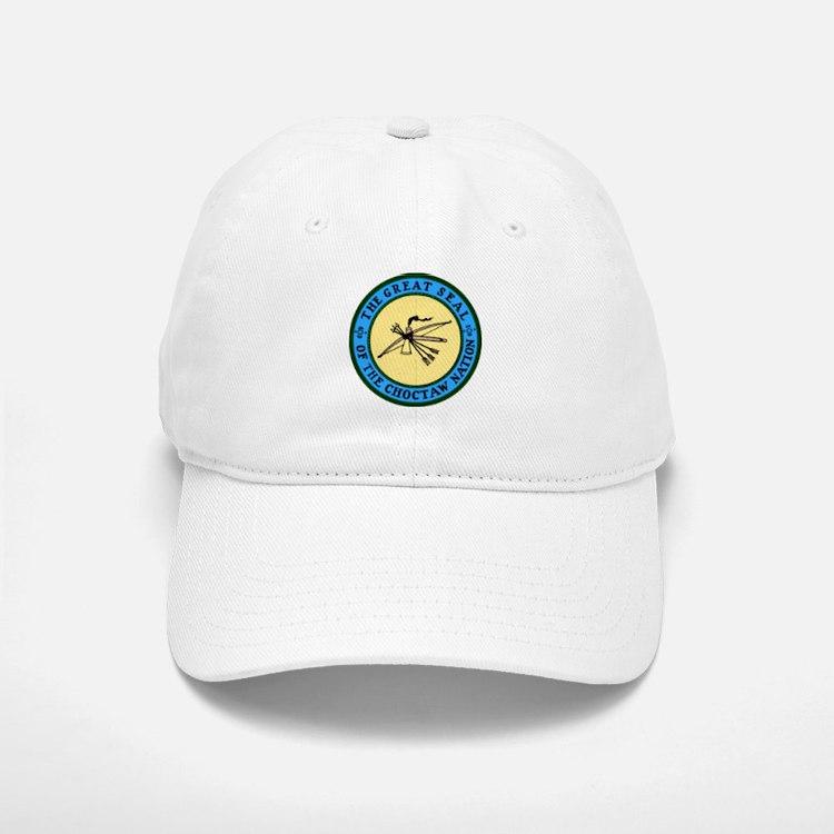 Great Seal of the Choctaw Baseball Baseball Cap