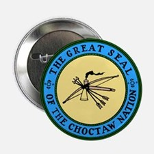 "Great Seal of the Choctaw 2.25"" Button (10 pack)"