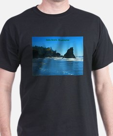 Ruby Beach (caption) T-Shirt