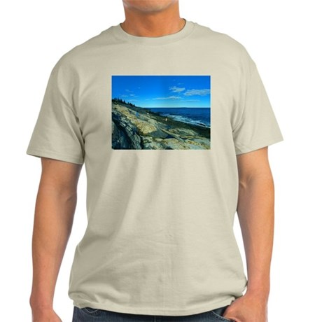 Pemaquid Point (no caption) Light T-Shirt