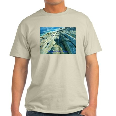 Pemaquid Point (caption) Light T-Shirt