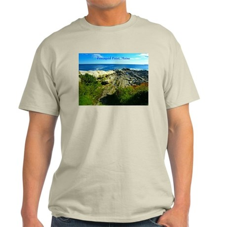 Pemaquid Point (caption) Light T-Shirt