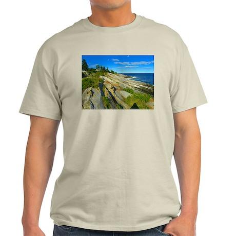 Pemaquid Point (no caption) Light T-Shirt