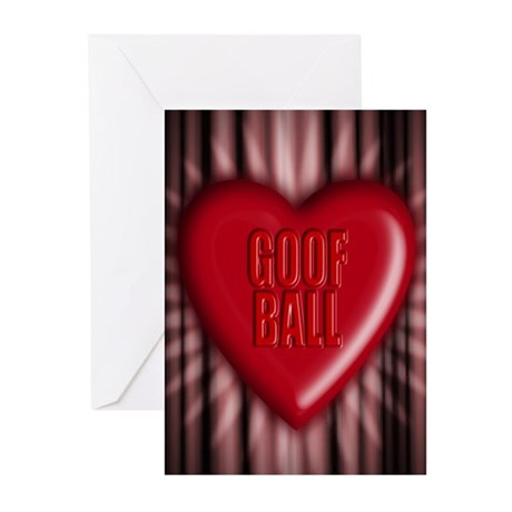 goof ball Greeting Cards (Pk of 10)