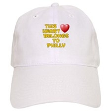 This Heart: Philly (D) Baseball Baseball Cap