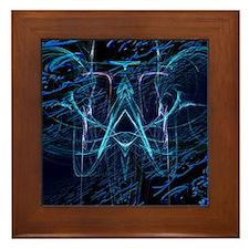 """""""Blue Denim"""" Framed Tile"""