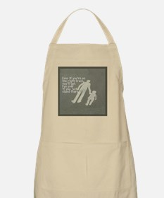 The Right Track Procrastinator BBQ Apron