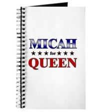 MICAH for queen Journal