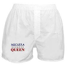 MICAELA for queen Boxer Shorts