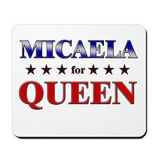 MICAELA for queen Mousepad