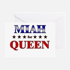MIAH for queen Greeting Card