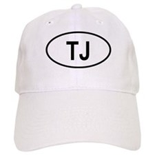 Tajikistan Oval Baseball Cap