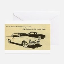Two '53 Studebakers on Greeting Cards (Pkg of 10)