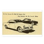 Two '53 Studebakers on Postcards (Package of 8)
