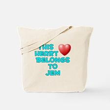 This Heart: Jem (E) Tote Bag