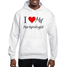 I Heart My Martyrologist Hoodie