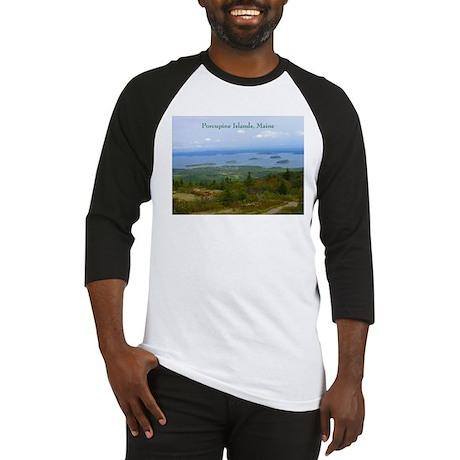 Porcupine Islands (caption) Baseball Jersey