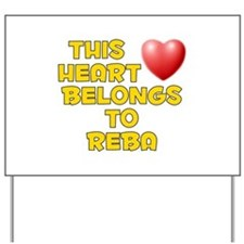 This Heart: Reba (D) Yard Sign