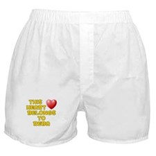 This Heart: Reba (D) Boxer Shorts