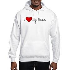 I Heart my Bear Jumper Hoodie