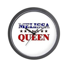 MELISSA for queen Wall Clock