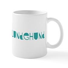 Norwegian Lundehund (fun blue Coffee Mug