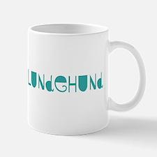 Norwegian Lundehund (fun blue Mug