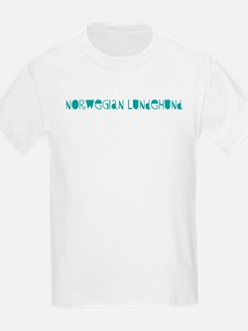 Norwegian Lundehund (fun blue T-Shirt