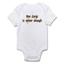 Never enough: Corgi Infant Bodysuit
