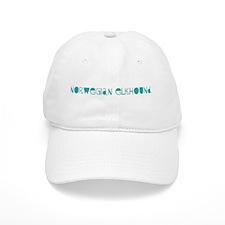 Norwegian Elkhound (fun blue) Baseball Cap