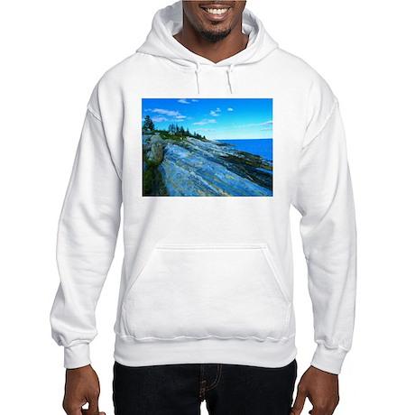 Pemaquid Point (no caption) Hooded Sweatshirt