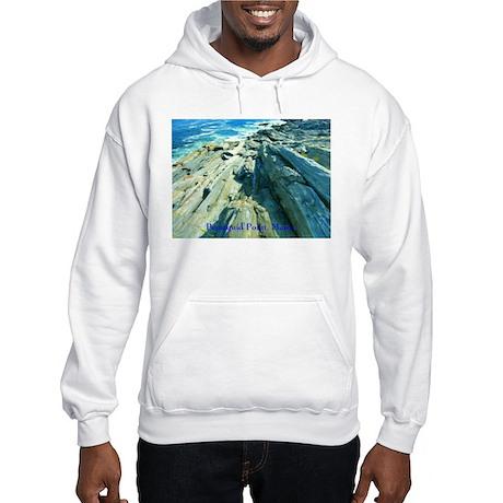 Pemaquid Point (caption) Hooded Sweatshirt