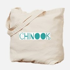 Chinook (fun blue) Tote Bag