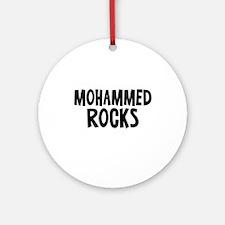 Mohammed Rocks Ornament (Round)