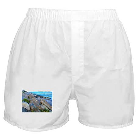 Pemaquid Point (caption) Boxer Shorts