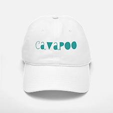 Cavapoo (fun blue) Baseball Baseball Cap