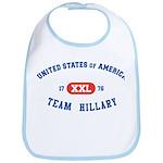 Team Hillary Bib