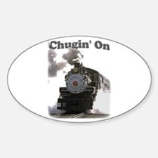 Chugin' On Oval Decal