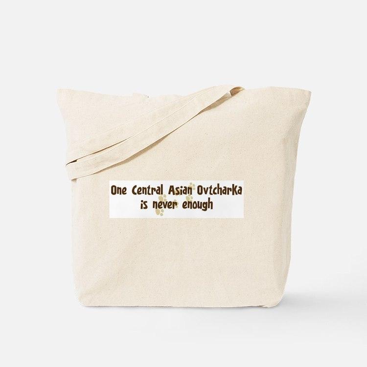 Never enough: Central Asian O Tote Bag