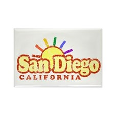 Sunny Gay San Diego, California Rectangle Magnet
