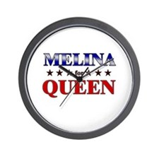 MELINA for queen Wall Clock