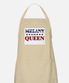 MELANY for queen BBQ Apron
