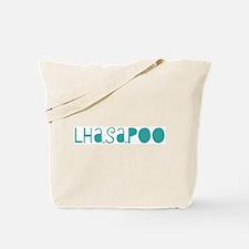 Lhasapoo (fun blue) Tote Bag