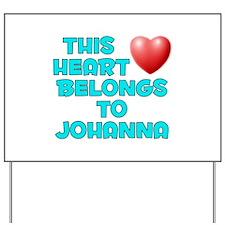 This Heart: Johanna (E) Yard Sign