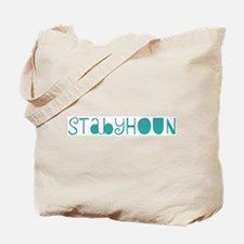 Stabyhoun (fun blue) Tote Bag