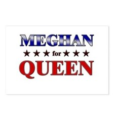 MEGHAN for queen Postcards (Package of 8)