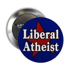 Liberal Atheist Button