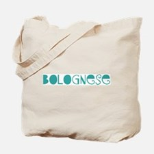 Bolognese (fun blue) Tote Bag