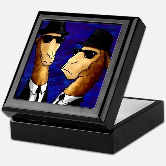 The Llama Brothers Keepsake Box